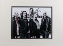 Stone Sour Autograph Signed Photo